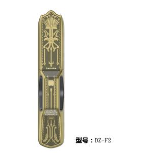 全自动指纹锁 青古铜